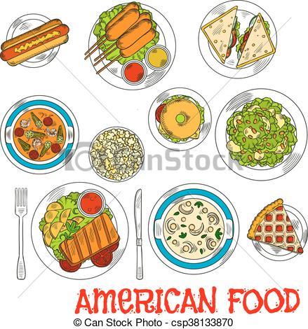 cuisine-plats-dessert-célèbre-image_csp38133870